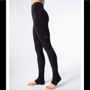 ALO Yoga Pants - Alo Goddess High Hi Rise Legging All Black XS EUC